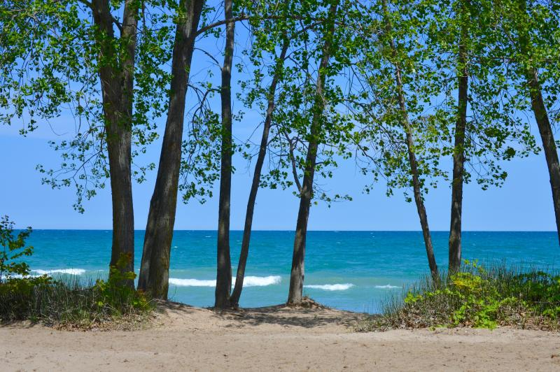 On the shores of Lake Huron