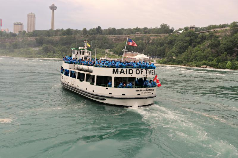 by ANGELICA A. MORRISON / Maid of the Mist, Niagara Falls 2017.