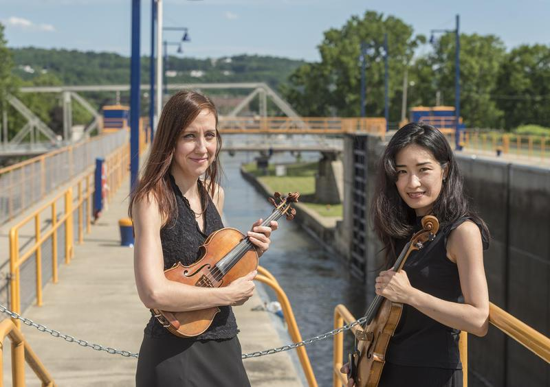 The Albany Symphony Orchestra marked the bicentennial of the Erie Canal's beginnings.