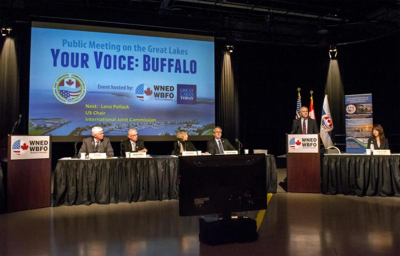 In March, Great Lakes Today hosted two public meetings of the International Joint Commission.